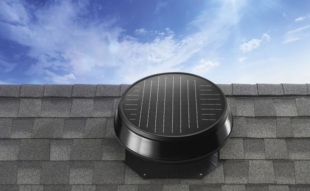 image of solar star installed on roof