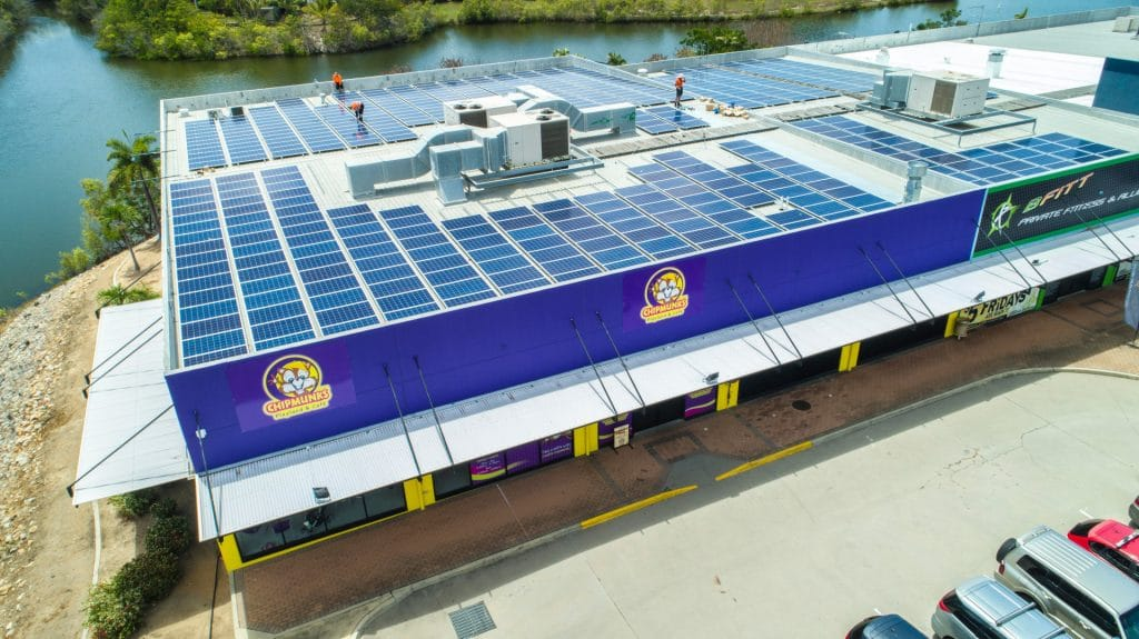 image of Chipmunks Townsville solar installation